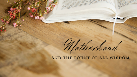Motherhood And The Fount of All Wisdom